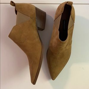 Nine West western ankle booties